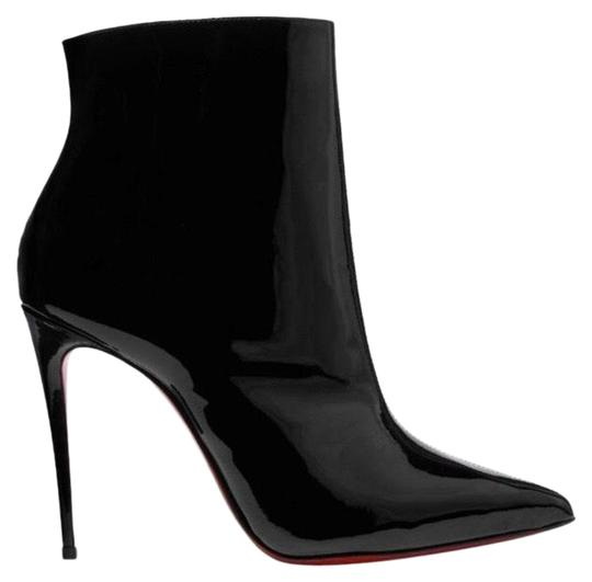 Preload https://img-static.tradesy.com/item/26379932/christian-louboutin-black-so-kate-100-patent-leather-heels-ankle-bootsbooties-size-eu-41-approx-us-1-0-2-540-540.jpg