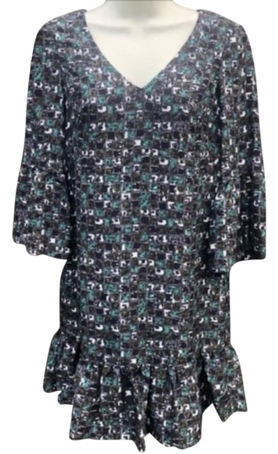 Tibi Gray Mini Short Night Out Dress Size 0 (XS) Tibi Gray Mini Short Night Out Dress Size 0 (XS) Image 1