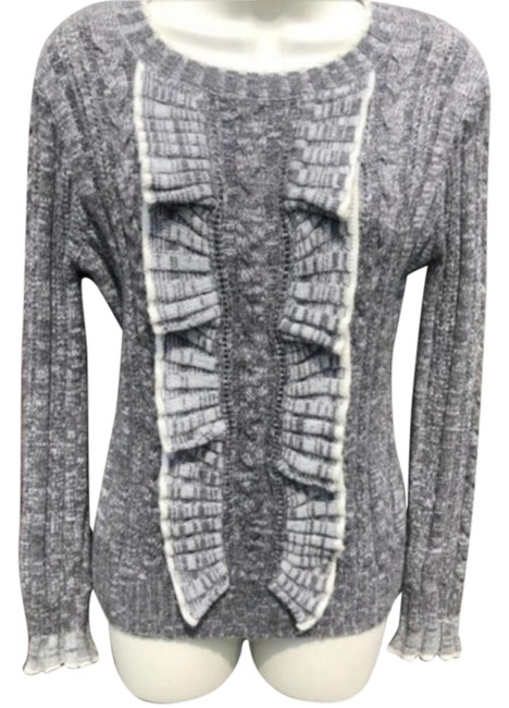Anthropologie Gray Sweater Anthropologie Gray Sweater Image 1