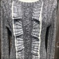 Anthropologie Gray Sweater Anthropologie Gray Sweater Image 2