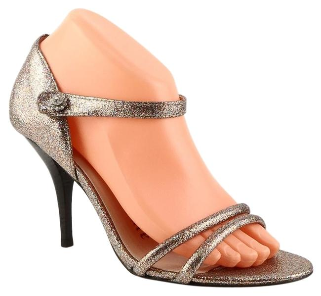 Juicy Couture Metallic Deb Glitter Mary Jane Evening Pumps Size US 8 Regular (M, B) Juicy Couture Metallic Deb Glitter Mary Jane Evening Pumps Size US 8 Regular (M, B) Image 1