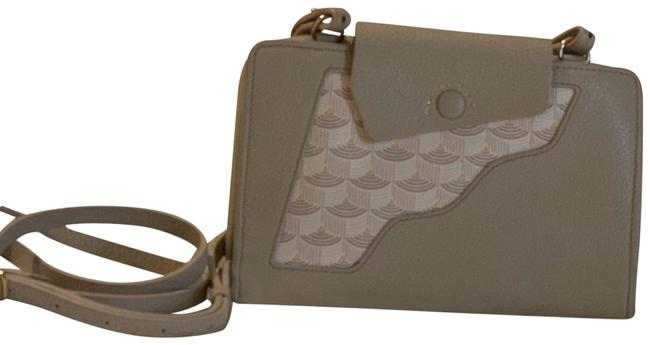 Fauré Le Page Holster Wos Taupe Leather Cross Body Bag Fauré Le Page Holster Wos Taupe Leather Cross Body Bag Image 1