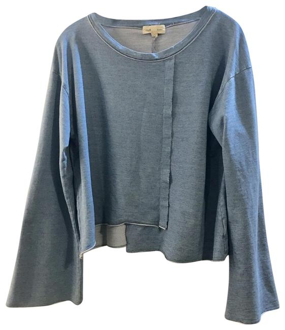 Preload https://img-static.tradesy.com/item/26380984/cloth-and-stone-with-bell-sleeves-washed-blue-sweater-0-3-650-650.jpg