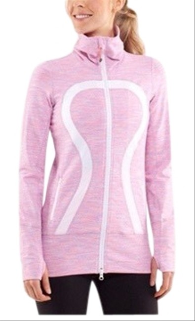Item - Pink/ White In Stride Wee Are From Space Activewear Outerwear Size 8 (M)