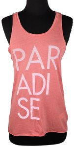 Junk Food Paradise Sleeveless Cotton Casual Top Multicolor