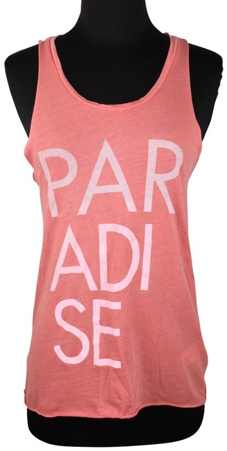 Item - Multicolor XS Paradise Sleeveless Cotton Casual Tank Top/Cami Size 0 (XS)