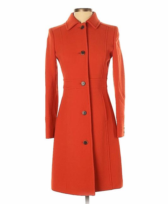 Item - Brick Red Lady Day In Wool Coat Size 0 (XS)