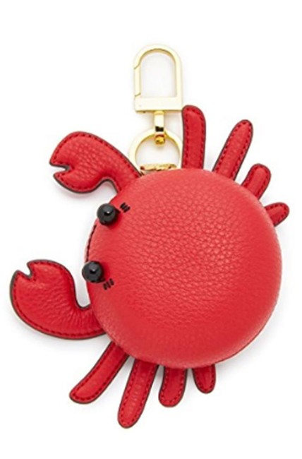 Item - Red Carl The Crab Keyfob Coin Case Bag Charm