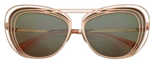 Wildfox Rose Gold Couture Hermitage Sunglasses Wildfox Rose Gold Couture Hermitage Sunglasses Image 1