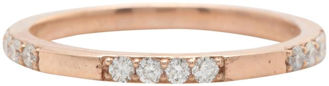 Rose Gold .28ctw Natural Si1 / G-h Diamonds In 14k Solid Ring Rose Gold .28ctw Natural Si1 / G-h Diamonds In 14k Solid Ring Image 1