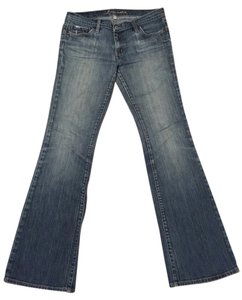 bebe Boot Cut Jeans-Light Wash
