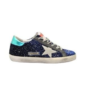Golden Goose Deluxe Brand Sneakers G35ws590p24 G35ws590.p24 G35ws590 P24 Blue Athletic