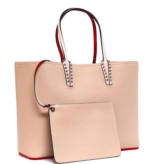 Preload https://img-static.tradesy.com/item/26382968/christian-louboutin-new-cabata-large-pink-leather-tote-0-0-540-540.jpg