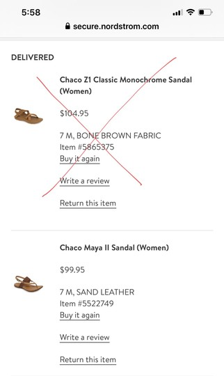 Chaco New Never Worn Sand Leather Sandals Image 1