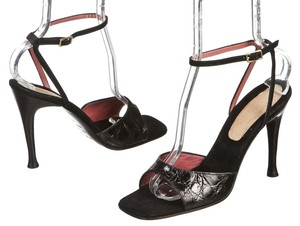 Sergio Rossi Black Sandals