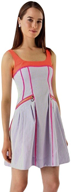 Item - Lilac Orange Pink Pool Party Short Casual Dress Size 10 (M)