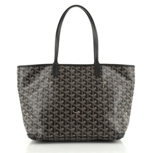 Goyard Canvas Tote in brown