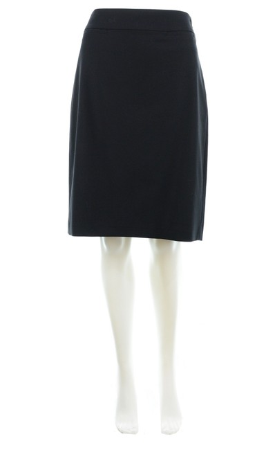 Item - Black Wool Blend Skirt Size 8 (M, 29, 30)