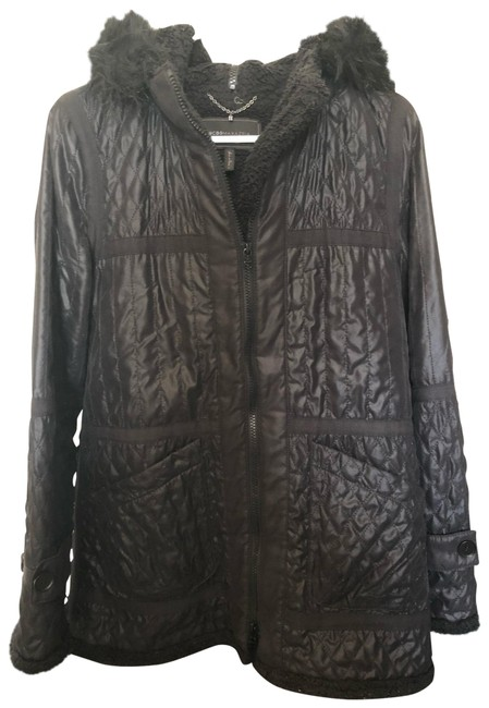 Item - Quilted Black Coat Size 4 (S)
