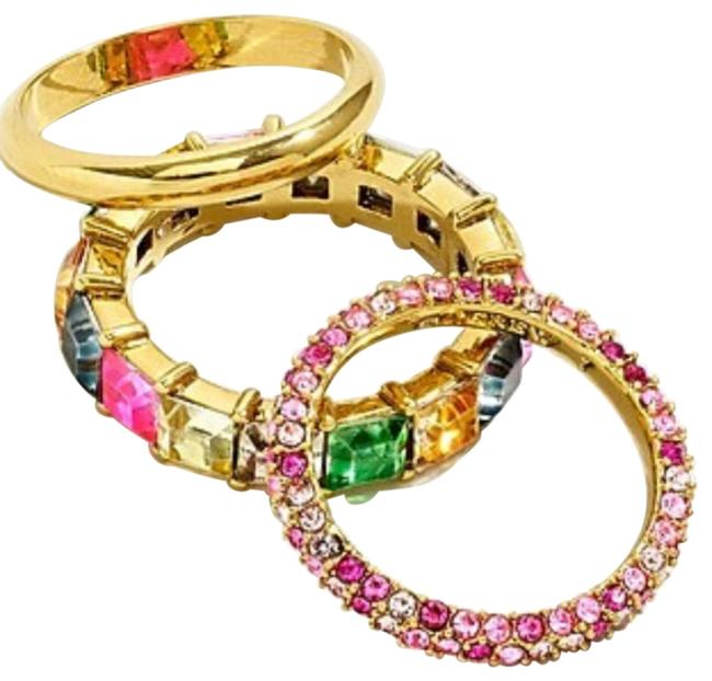 Item - Multicolor Pave Staking Set Ring