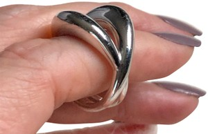 Mauboussin MAUBOUSSIN France Designer Ring Collection Solid 18K White Gold Sz 6