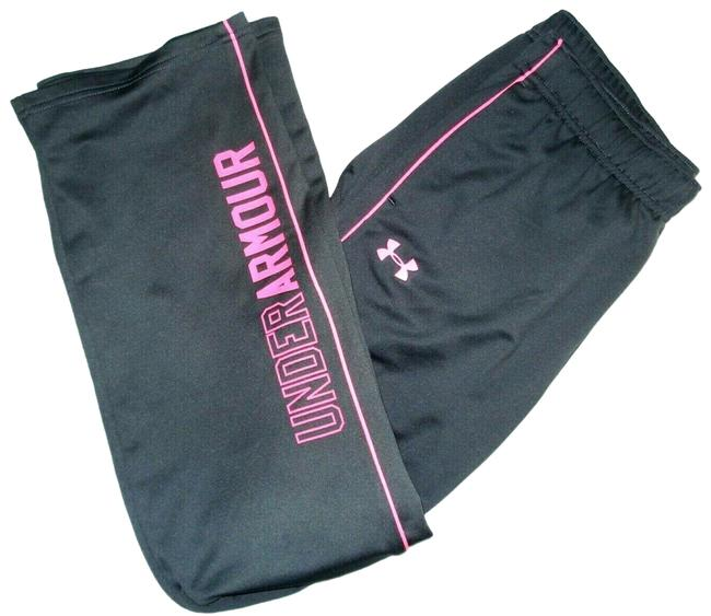 Item - Gray Pink Straight Sweatpants Ylg Elastic Waist Pockets M Activewear Bottoms Size 8 (M, 29, 30)