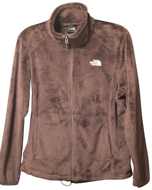 Item - Brown/Taupe Osito Jacket Activewear Size 12 (L)