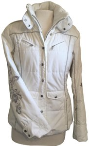 Bogner Snow Grey Silver Coat