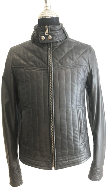 Dolce&Gabbana Grey Men Small Jacket Size 6 (S) Dolce&Gabbana Grey Men Small Jacket Size 6 (S) Image 1