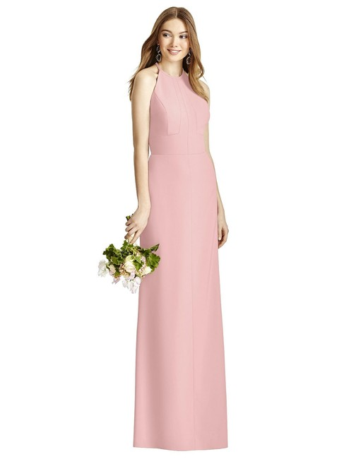 Item - Rose Crepe 4507 Modern Bridesmaid/Mob Dress Size 12 (L)