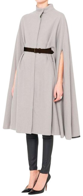 Item - Grey Ascot Belted Royal Poncho/Cape Size 8 (M)