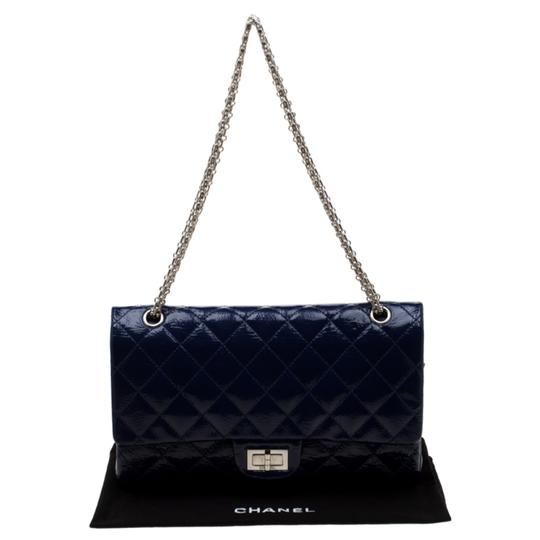 Chanel Quilted Patent Leather Shoulder Bag Image 11
