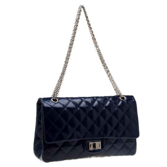 Chanel Quilted Patent Leather Shoulder Bag Image 3