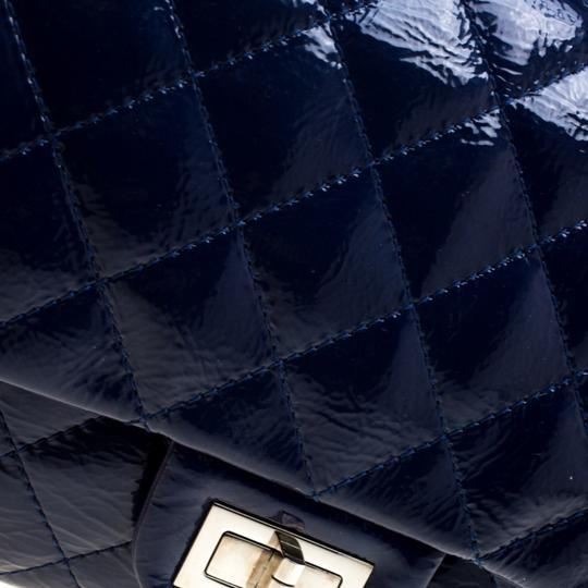 Chanel Quilted Patent Leather Shoulder Bag Image 8