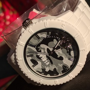 Versace Versace Camo White Watch New With Tags