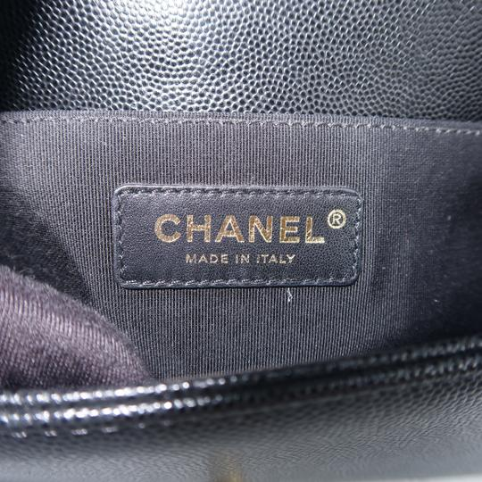 Chanel Caviar Small Boy Shoulder Bag Image 10