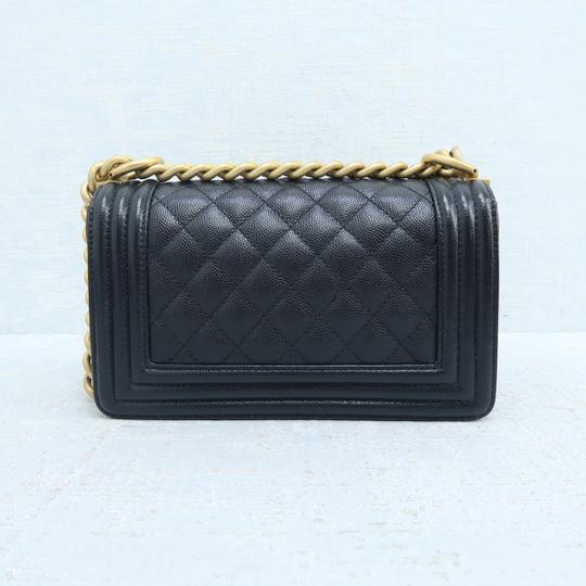 Chanel Caviar Small Boy Shoulder Bag Image 2