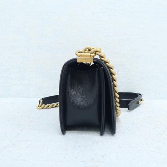 Chanel Caviar Small Boy Shoulder Bag Image 3