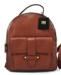 Frye Travel Leather Backpack