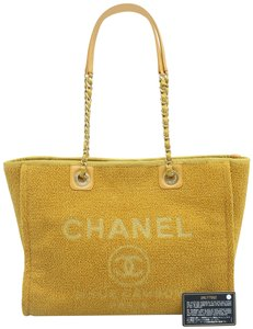 Chanel Deauville Tweed Small Shoulder Bag