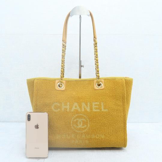 Chanel Deauville Tweed Small Shoulder Bag Image 1