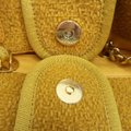 Chanel Deauville Tweed Small Shoulder Bag Image 8