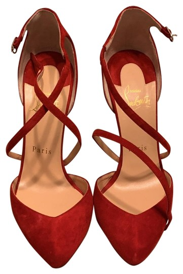 Preload https://img-static.tradesy.com/item/26389523/christian-louboutin-red-crossbreche-100-pumps-size-eu-37-approx-us-7-regular-m-b-0-2-540-540.jpg