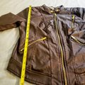 Charlotte Russe Zipper Moto Faux Leather Motorcycle Jacket Image 5