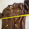 Charlotte Russe Zipper Moto Faux Leather Motorcycle Jacket Image 6