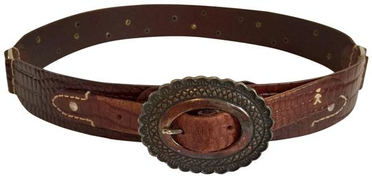Preload https://img-static.tradesy.com/item/26389567/henry-beguelin-medium-brown-calf-antiqued-silver-buckle-studs-and-hardware-copper-stones-handmade-in-0-2-540-540.jpg