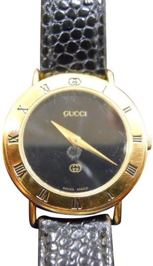 Preload https://img-static.tradesy.com/item/26389610/gucci-goldblack-dial-timeless-women-s-model-3000l-swiss-accurate-time-new-band-watch-0-3-540-540.jpg