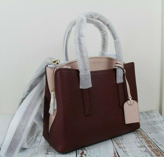 Kate Spade Satchel in Cherrywood Multi/Gold Image 8