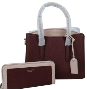 Kate Spade Satchel in Cherrywood Multi/Gold