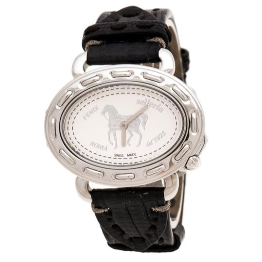 Fendi Silver White Stainless Steel Selleria 8300M Women's Wristwatch 40 mm Image 0